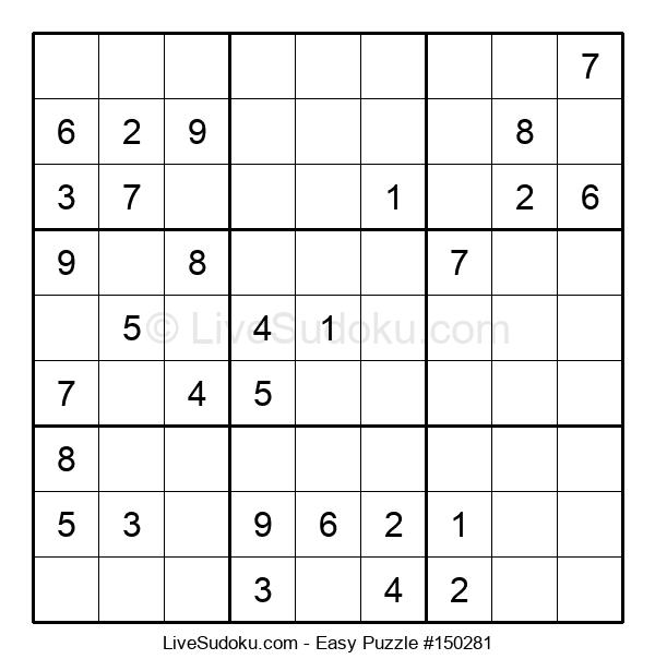 Beginners Puzzle #150281