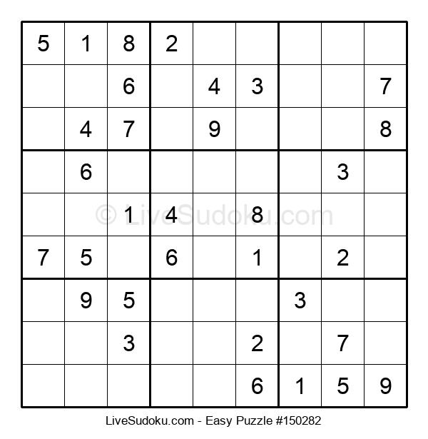 Beginners Puzzle #150282