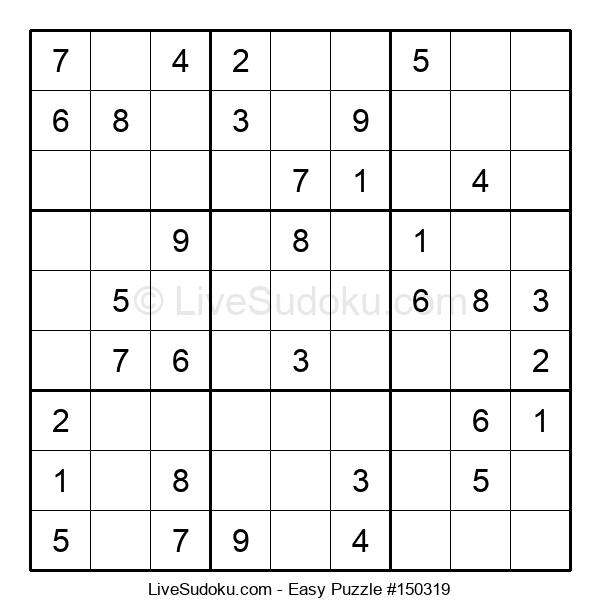 Beginners Puzzle #150319