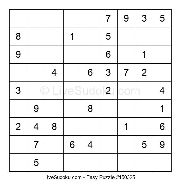 Beginners Puzzle #150325