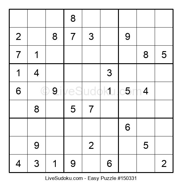 Beginners Puzzle #150331
