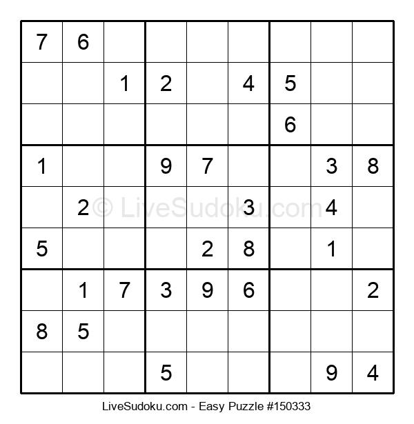 Beginners Puzzle #150333