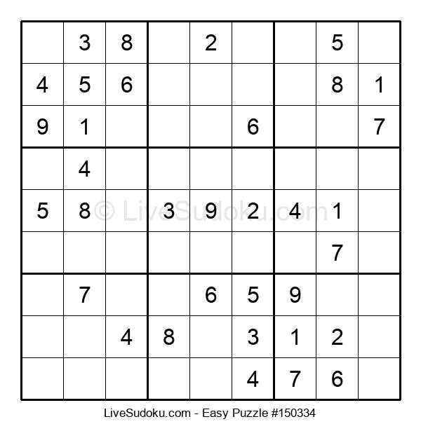Beginners Puzzle #150334