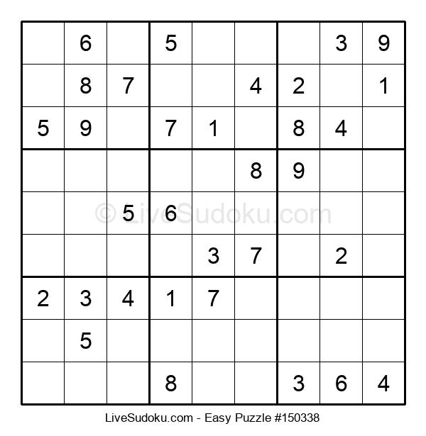 Beginners Puzzle #150338