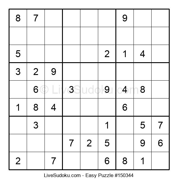 Beginners Puzzle #150344