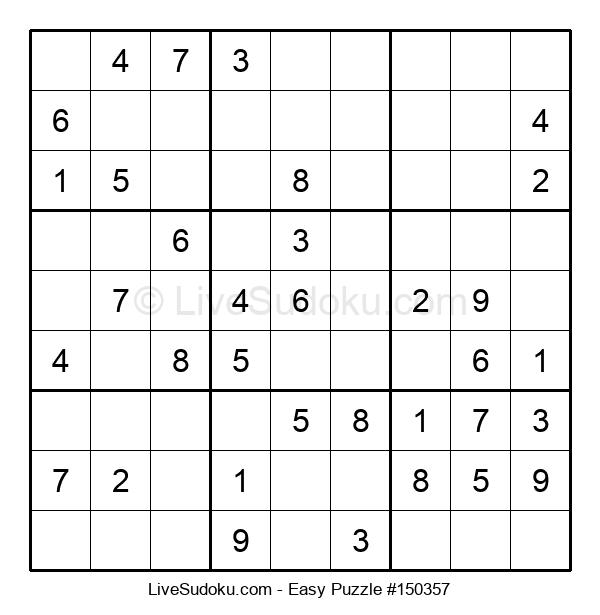 Beginners Puzzle #150357