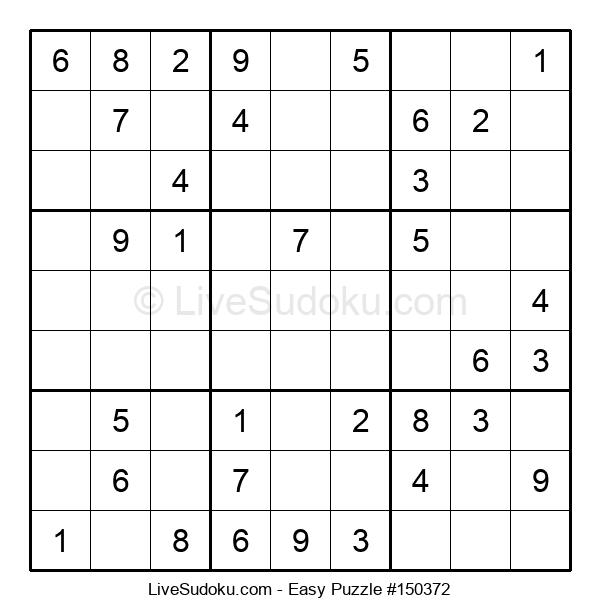 Beginners Puzzle #150372