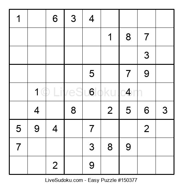 Beginners Puzzle #150377