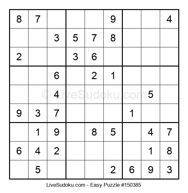 Beginners Puzzle #150385