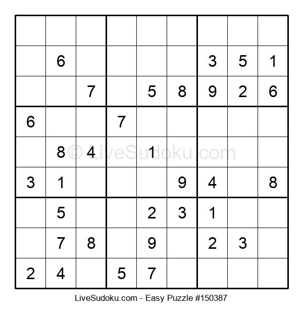 Beginners Puzzle #150387