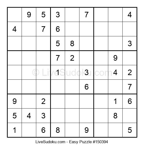 Beginners Puzzle #150394