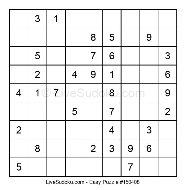 Beginners Puzzle #150408