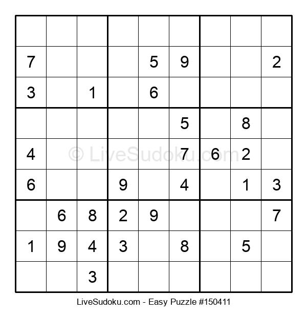 Beginners Puzzle #150411