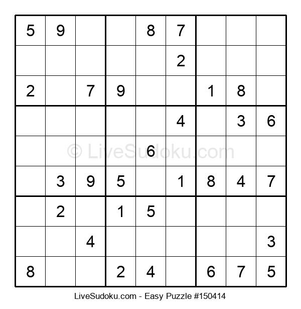 Beginners Puzzle #150414