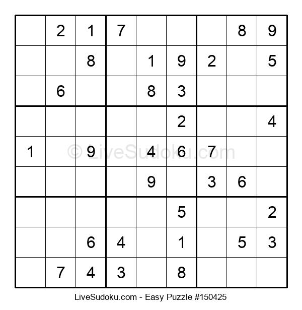 Beginners Puzzle #150425