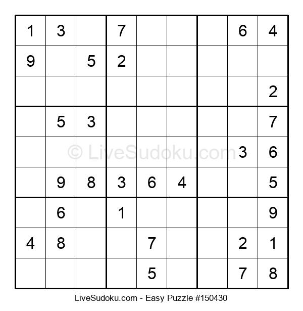 Beginners Puzzle #150430