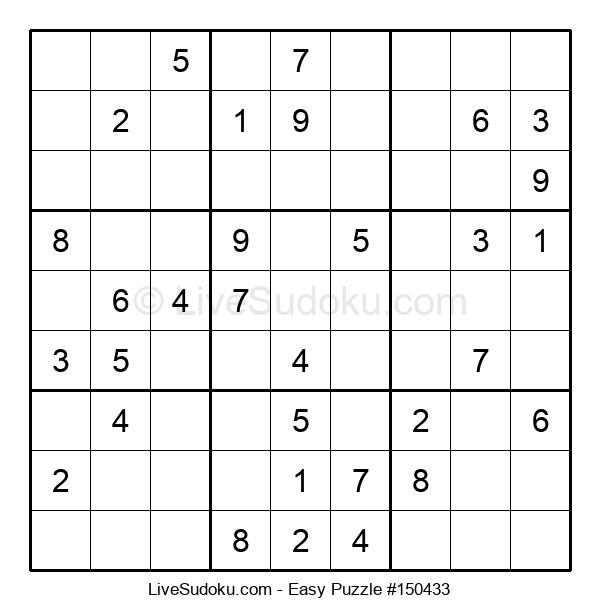 Beginners Puzzle #150433