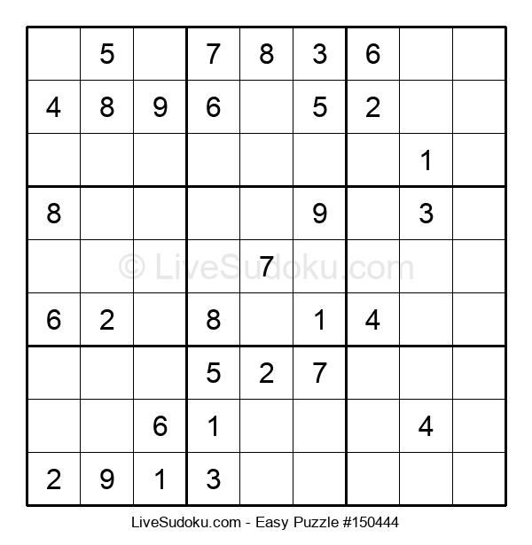 Beginners Puzzle #150444