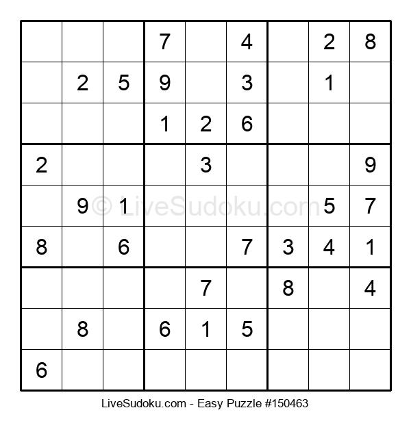 Beginners Puzzle #150463