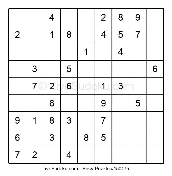 Beginners Puzzle #150475