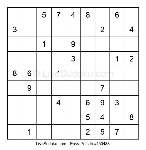 Beginners Puzzle #150483
