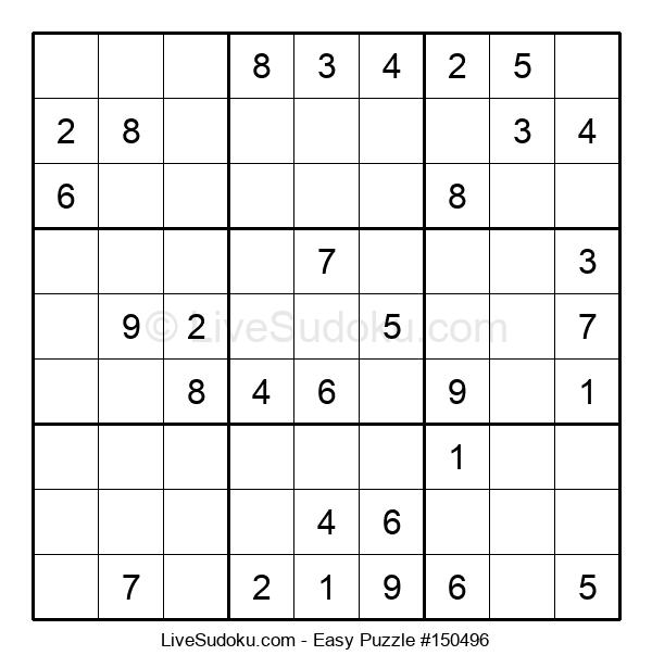 Beginners Puzzle #150496