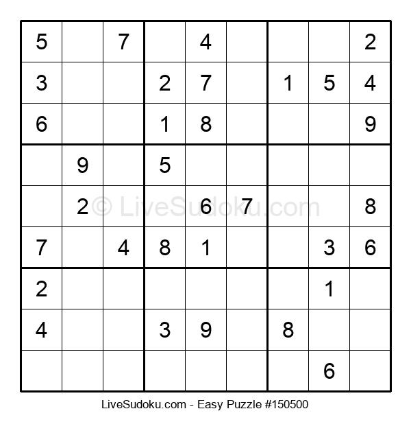 Beginners Puzzle #150500
