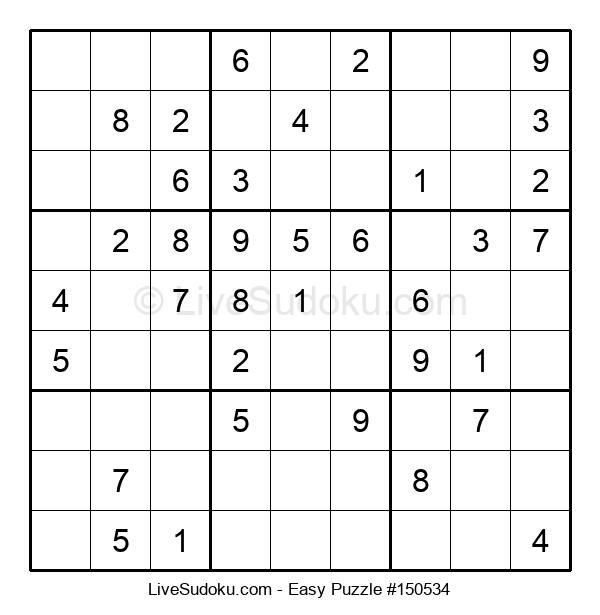 Beginners Puzzle #150534