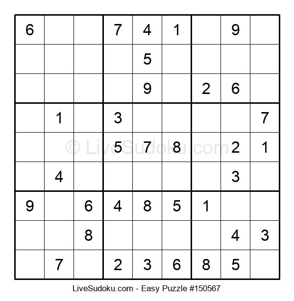 Beginners Puzzle #150567