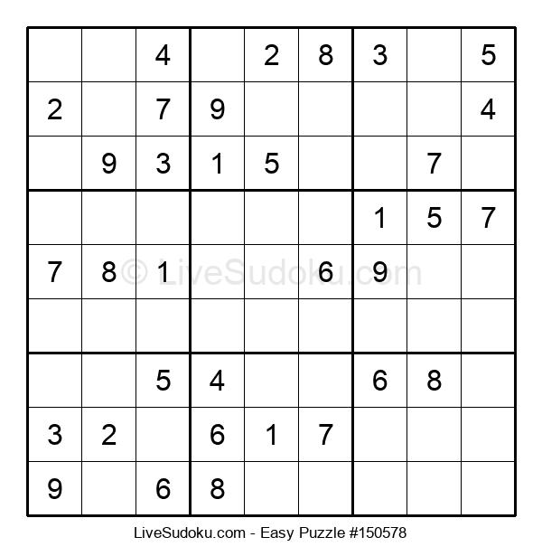 Beginners Puzzle #150578