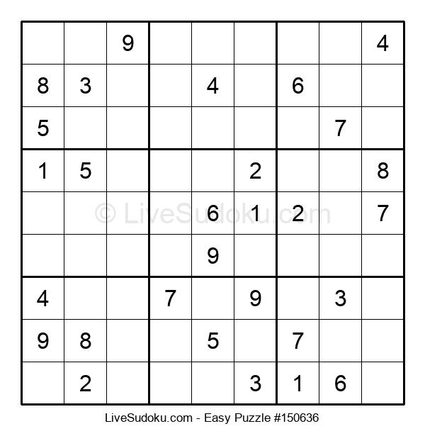 Beginners Puzzle #150636