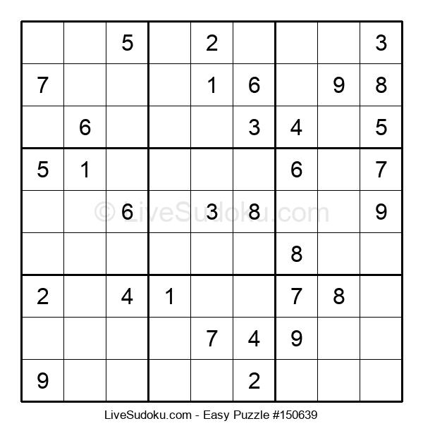 Beginners Puzzle #150639