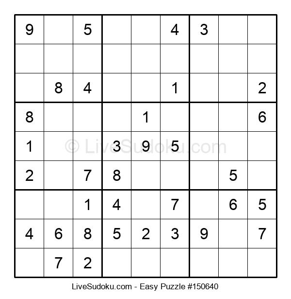 Beginners Puzzle #150640