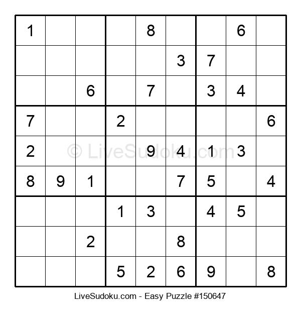 Beginners Puzzle #150647