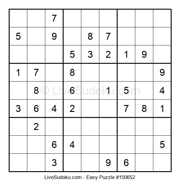 Beginners Puzzle #150652