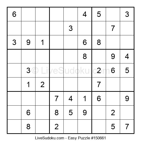 Beginners Puzzle #150661