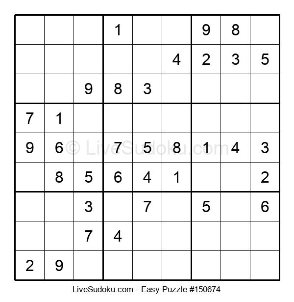 Beginners Puzzle #150674
