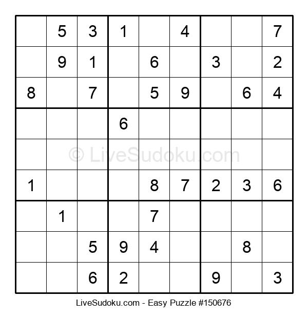 Beginners Puzzle #150676