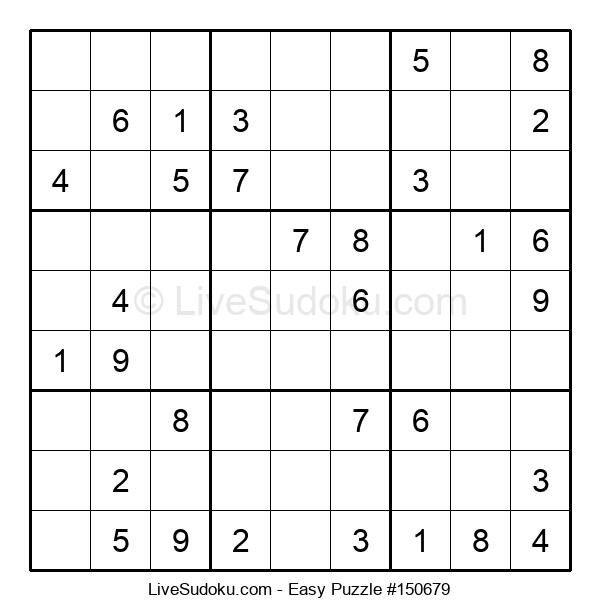 Beginners Puzzle #150679
