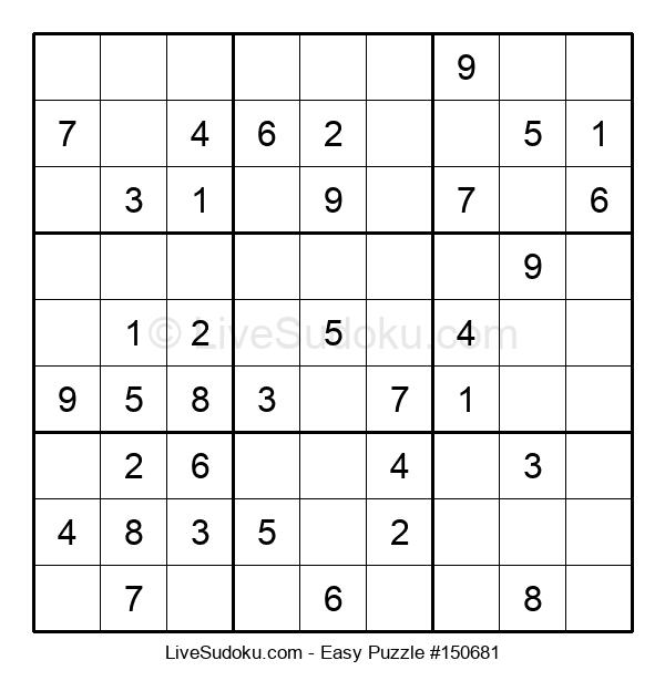 Beginners Puzzle #150681