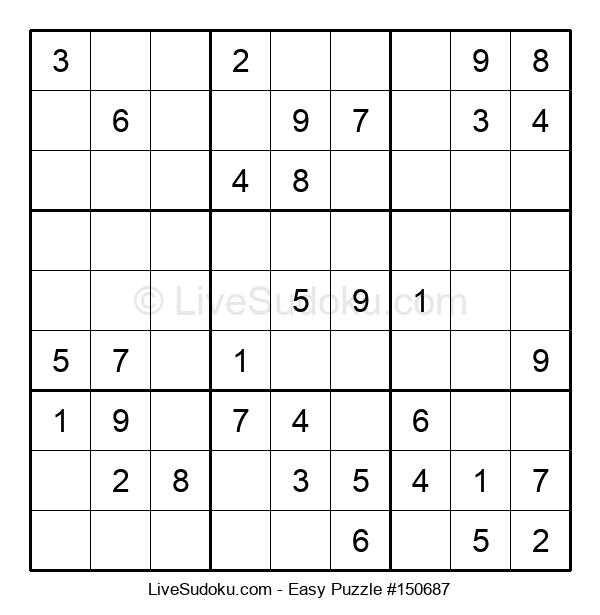 Beginners Puzzle #150687