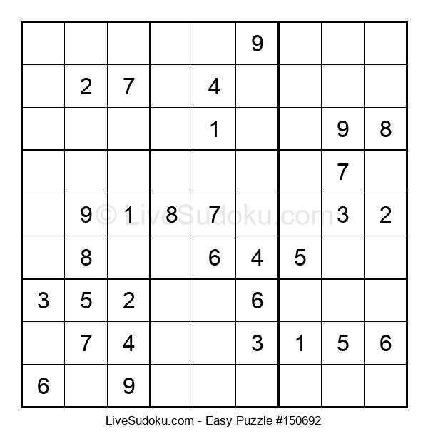 Beginners Puzzle #150692