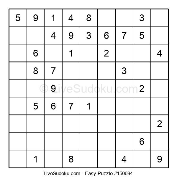 Beginners Puzzle #150694
