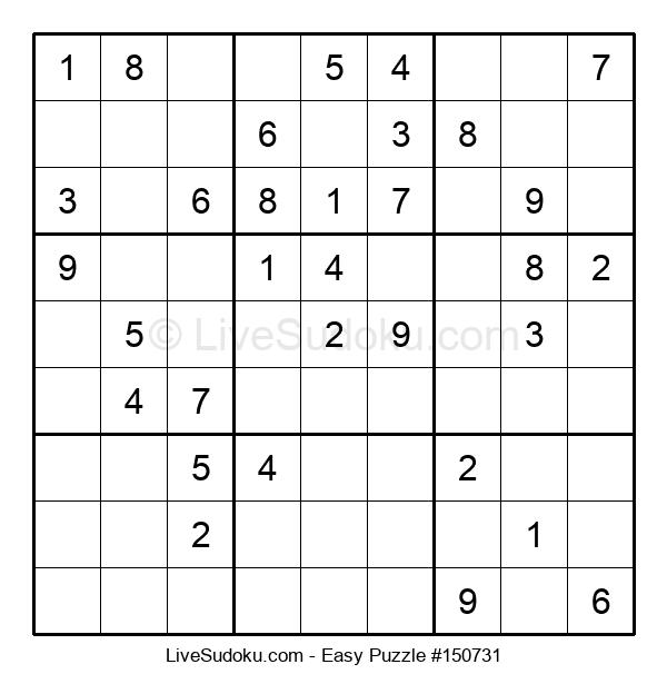 Beginners Puzzle #150731