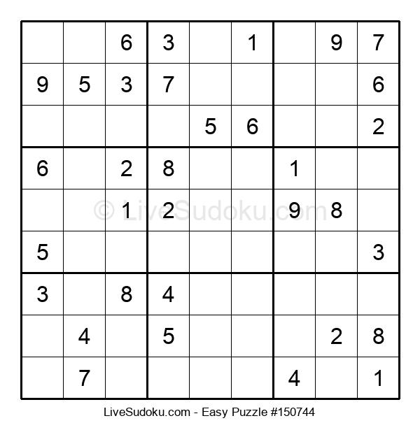 Beginners Puzzle #150744