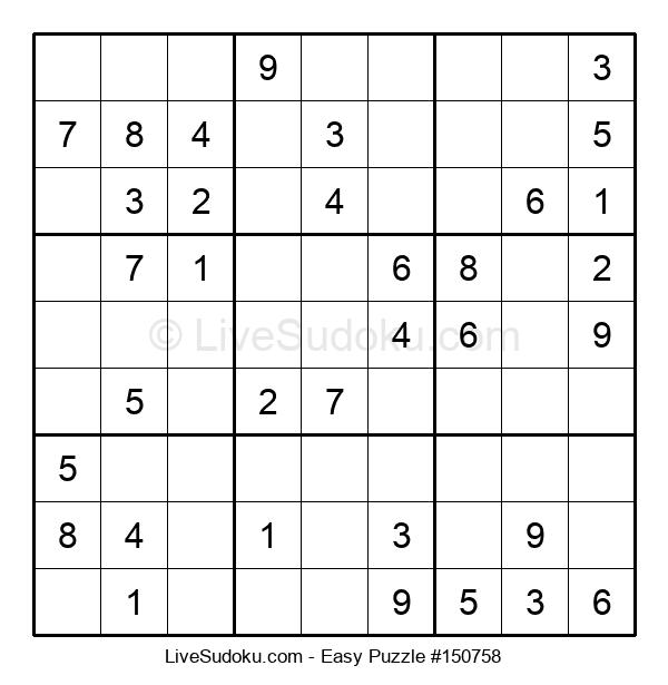 Beginners Puzzle #150758