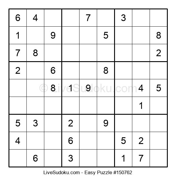 Beginners Puzzle #150762