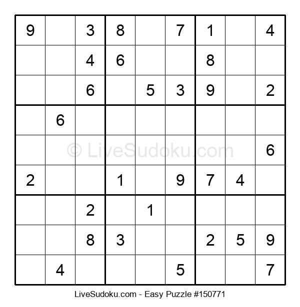 Beginners Puzzle #150771