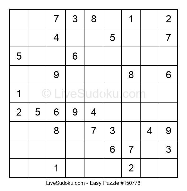 Beginners Puzzle #150778