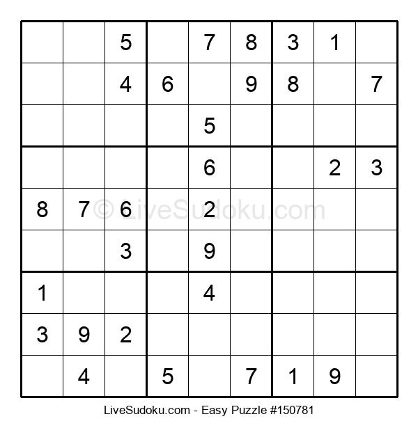 Beginners Puzzle #150781